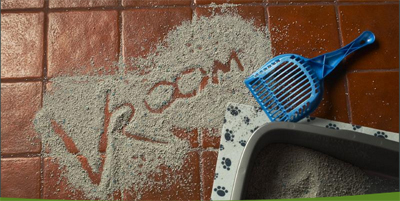 Kitty litter can be a big problem, but not for those vet techs with a central vac!